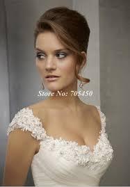Elegante Spitze Brautkleider V ausschnitt Vintage Brautkleider ...