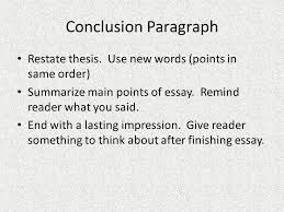the write stuff ppt video online  25 conclusion paragraph