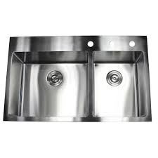 drop in top mount 16 gauge stainless steel 36 in x 22 in