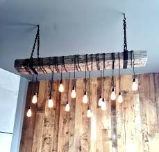 wood beam chandelier on twitter complete a design rustic reclaimed b