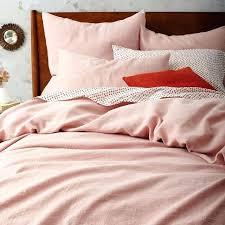 blush duvet cover twin xl blush colored duvet covers belgian flax linen duvet cover shams rosette