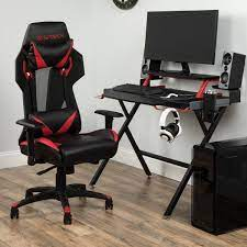gaming desk and chair set desk and