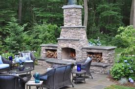 patios with fireplaces catchy charming backyard and patios with fireplaces