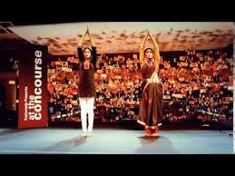 beautiful indian women dancing yoga dance you