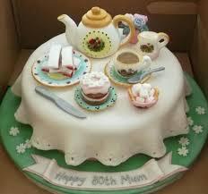 Tea Party Birthday Cake Images Littleharmony