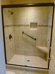 semi frameless sliding glass shower door glen allen va virginia shower door llc richmond va 804 784 7244