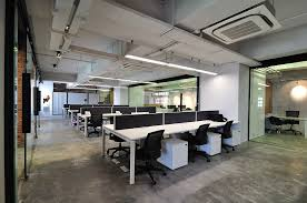 cool open office space cool office. Cool Raw Office Design \u003e Open Work Area Space C