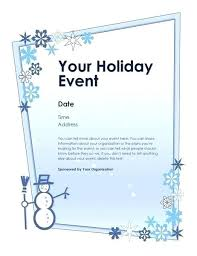 Winter Newsletter Template