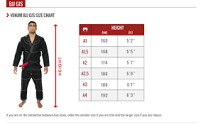 Atama Size Chart Jiu Jitsu Gi Size Chart Atama Best Picture Of Chart