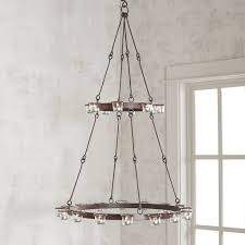 by hanging candle chandeliers diy possible or just 6