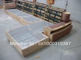 aliexpress morden sofa leather corner sofa livingroom regarding wood frame sofa manufacturers