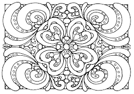 Super Hard Abstract Coloring Pages For Adults Coloring Pages