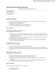 Administrative Assistant Resume Sample For Position Admin A – Iinan.co