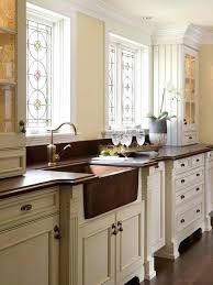 Houzz Farmhouse Kitchen Sinks Example Of A Classic Design In With Recessed  Panel Cabinets Sink . Houzz Copper Farmhouse Sink Drop In Kitchen ...