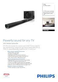 HTL5140B/12 Philips Soundbar speaker