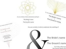 Wedding Powerpoint Template Free Wedding Invitations