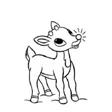 Small Picture Rudolph and Clarice Decorated Christmas Tree Coloring Page Color