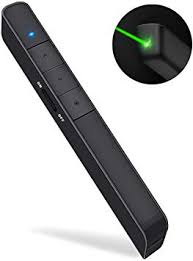 Dinofire Presentation Clicker Green Light Pointer ... - Amazon.com