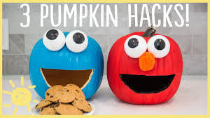 Small Pumpkin Painting Diy Halloween Pumpkin Hacks Youtube