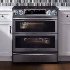 samsung electric stove. samsung flex duo black stainless 30\ electric stove h