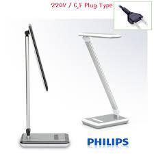 philips 71570 eye care blade ii table lamp led desk light adjule lighting