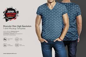 High Resolution T Shirt Designs Muscular Men High Resolution T Shirt Mockup Designertale