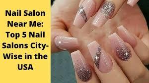 find nail salon near me city wise
