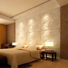 a21070 3d wall flats decorative wall panels primitive white set of 36