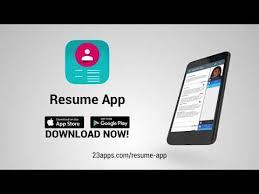 App Resume Resume Builder App Free Apps On Google Play