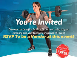 promote your business be a vendor 24 hour fitness sneak k event