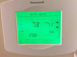 trane ac thermostat. picture of the screen display honeywell rth8580wf thermostat, in wi-fi setup trane ac thermostat r