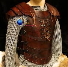 meval vest armor costumes dress genunine leather sca larp costumes dress