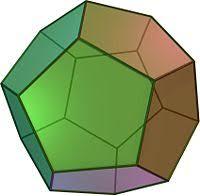 Многогранники Реферат Правильный многогранник составленный из 12 равносторонних пятиугольников Додекаэдр имеет 20 вершин и 30 ребер Вершина додекаэдра является вершиной трех