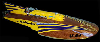 miss unlimited model boat by jim walker and american junior