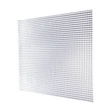 OPTIX 23 75 in x 47 75 in Prismatic Clear Acrylic Light Panel