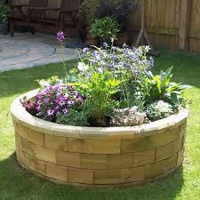 Circular Bed Circular Raised Bed Best Seller 123 X 035m Woodblocx