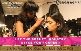 best makeup artist academy in up lakme academy ghaziabad