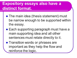 the expository essay what is an expository essay an expository  4 expository