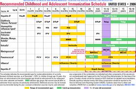 29 Right Doh Immunization Schedule