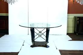 60 inch glass table top inch table inch glass table top transitional round glass top table 60 inch