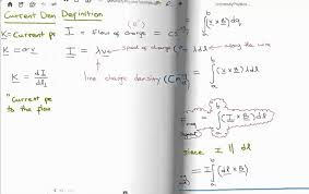 density equation. magnetostatics 2 : current density and the continuity equation