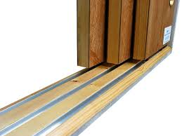 Sliding Closet Doirs Roller Barn Door Three Track Sliding Closet Doors Triple Track
