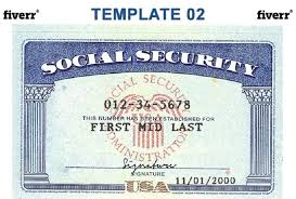 Security Tacoma Wa Social amp; Numbers Cards Id State Uw
