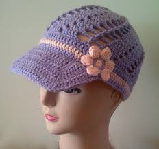 Youtube Crochet Patterns Best Free Crochet Flower Pattern For Spring Baseball Cap YouTube