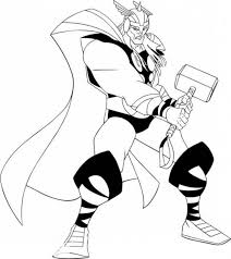 Explore 623989 free printable coloring pages for you can use our amazing online tool to color and edit the following thor ragnarok coloring pages. 20 Free Printable Thor Coloring Pages Everfreecoloring Com