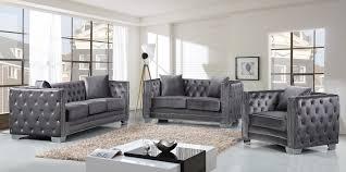 grey velvet sectional. Black Velvet Sofa | Sectional Large Grey
