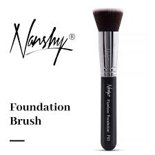 how to use flat top foundation brush tutorial