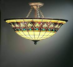 antique stained gl antique stained glass hanging light fixtures popular rustic light fixtures
