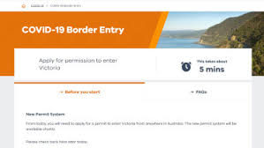 The permit system also applies to victorian residents returning home from interstate. Coronavirus Australia Update Live Victoria Introduces New Border Rules Nsw Records Three Covid 19 Cases Brisbane Lockdown To End But Masks Remain