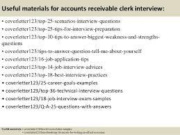 Account Clerk Interview Questions Rome Fontanacountryinn Com